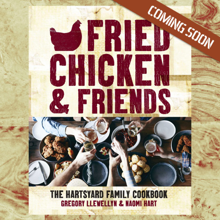 Fried Chicken and Friends, Hartsyard book coming soon